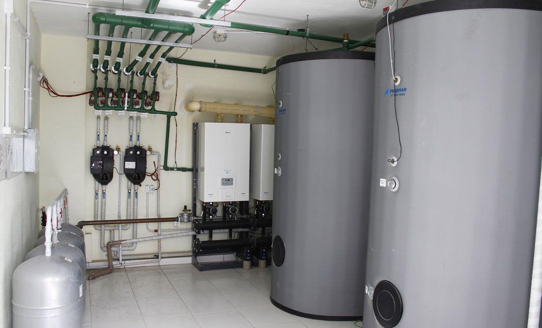 Pressurização Central de Água